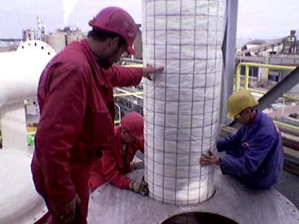Controle de emissão de gases poluentes