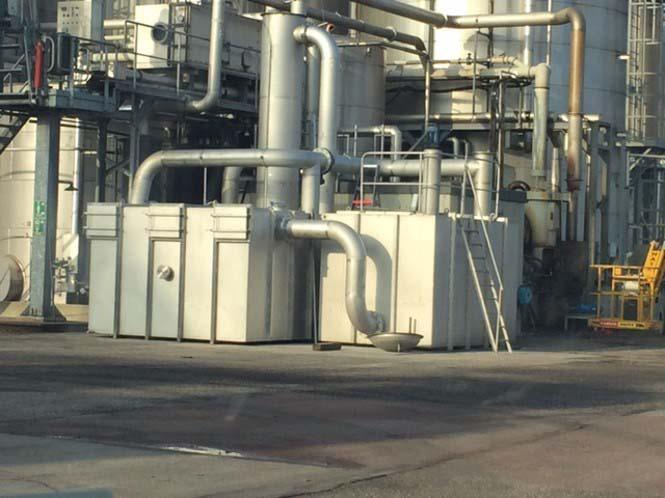Equipamentos de controle de emissão de gases