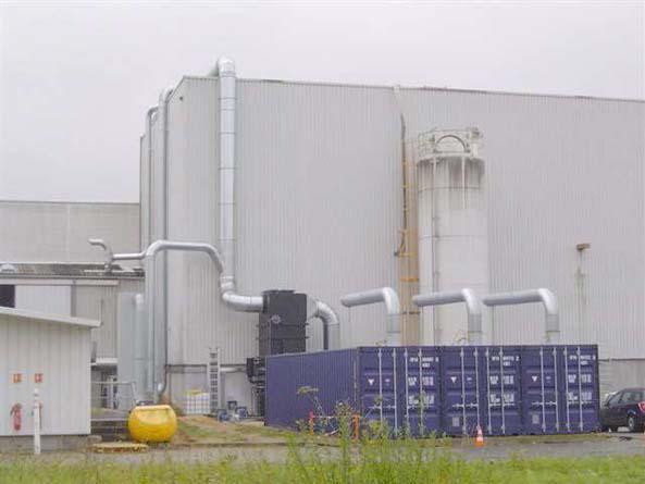 Equipamentos de controle de emissões atmosféricas