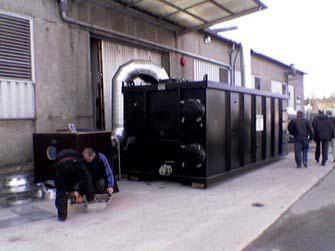 Filtro de carvão ativado para industria