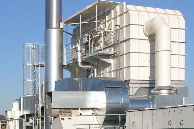 Incinerador térmico regenerativo