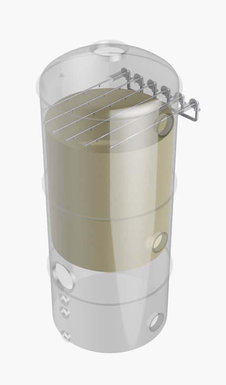 Lavador de gases caldeira