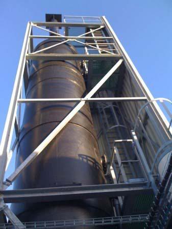 Lavador de gases para incinerador
