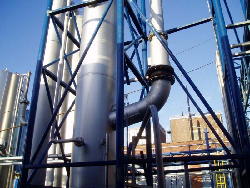 Lavador de gases solventes
