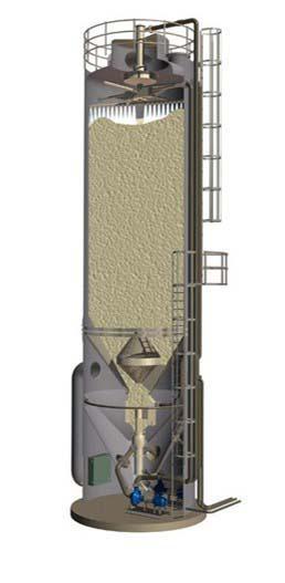 Lavador de gases tipo scrubber