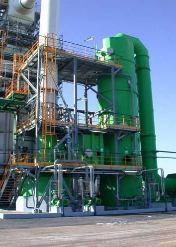 Lavagem de gases industriais