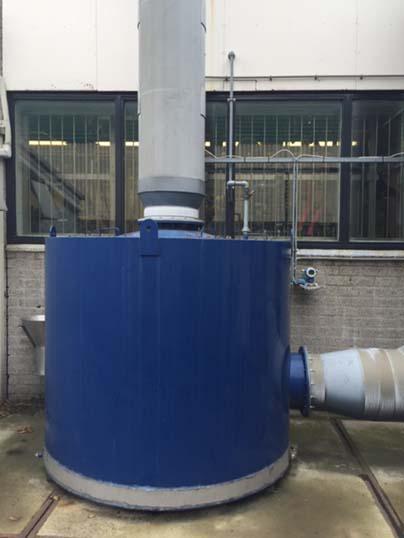 Limpeza de gases
