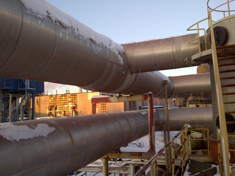 Sistema de captação e recuperação de vapores
