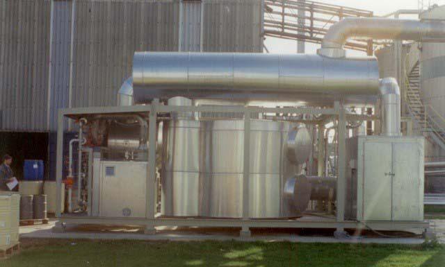 Solução para emissão de gases poluentes