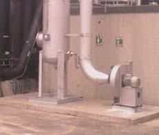 Tratamento de emissões atmosféricas industriais