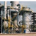 Lavador de gases para amônia