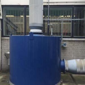 Filtro de carvão ativado para gases